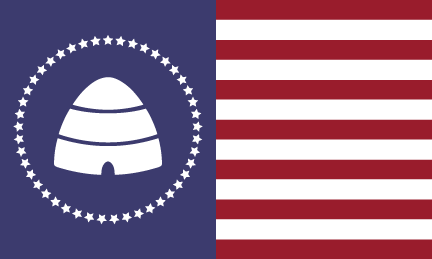 Image result for flag beehive